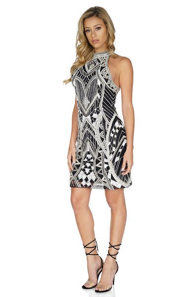 Parker Women's Pasclina Sequin Dress in Black - Cocktail Dresses