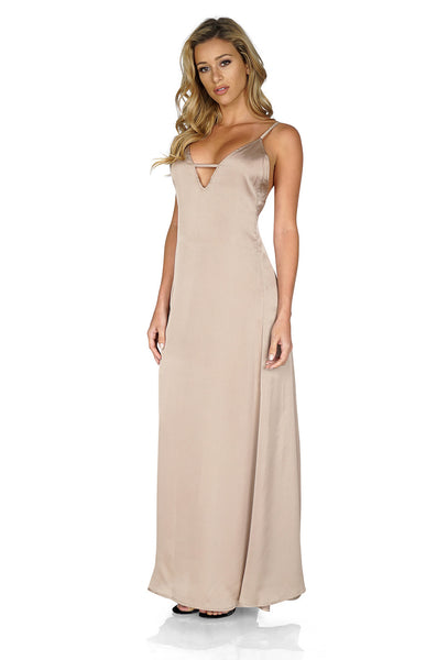 Lioness Nightcap Silk Maxi Dresses side