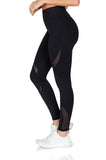 Michi Women's Supernova Workout Leggings in Black - Activewear side