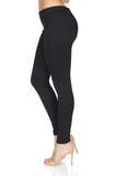 AMANDA UPRICHARD Braxton Moto Leggings in Black side