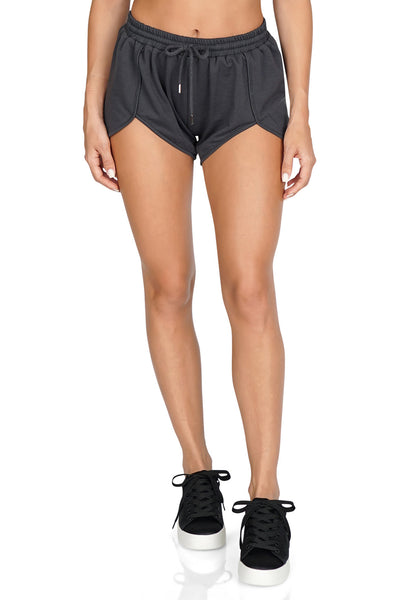 ROG Dani Knit Chambray Shorts front