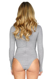 ROG Alexis Choker Bodysuit - Long Sleeve Bodysuit back