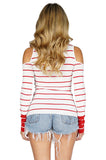BAILEY 44 Harbor Master Cold Shoulder Top back