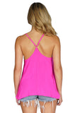 AMANDA UPRICHARD Alandra Racerback Tank Top back