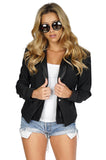 GENERATION LOVE Virginia combo leather blazer