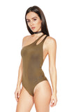 ROG Gisele One Shoulder Bodysuit side