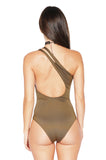 ROG Gisele One Shoulder Bodysuit back