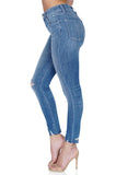 J BRAND Alana High Rise Crop Skinny Distressed Jeans side