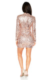 ROG Clarie Sequin Dress