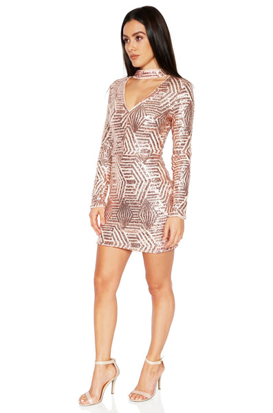 ROG Clarie Sequin Dress Full