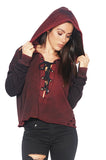 Tyler Jacobs Cobi Lace Up Hoodie Jacket