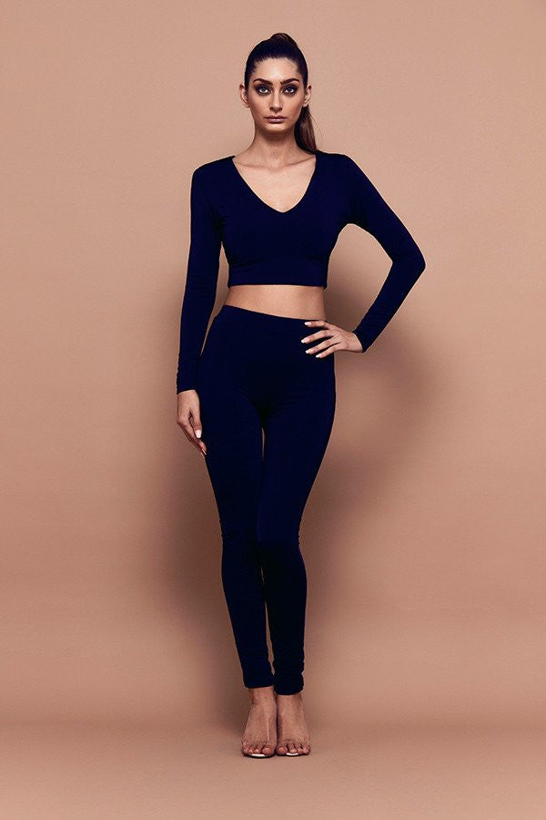Bossa High Waisted Leggings front