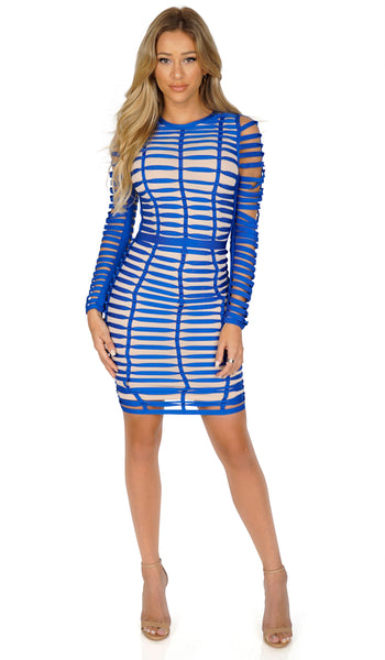 ROG Allure Longsleeve Bandage dress