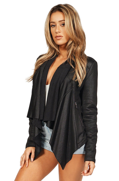 Generation Love Giselle front draped sweater