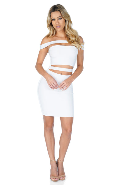 ROG Slasher Bandage Mini Dress