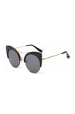 ROG Cat Eye Sunglasses side Black