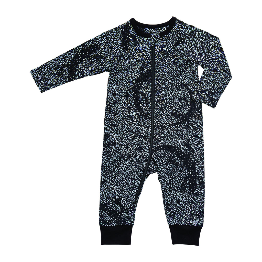 Black baby jumpsuit