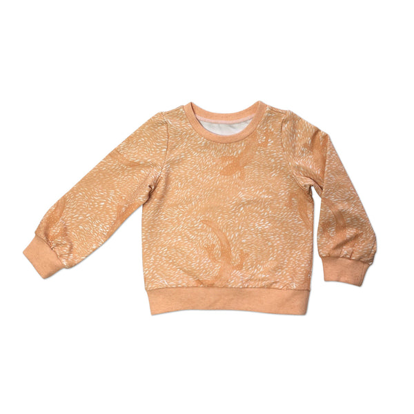 Orange lizard sweatshirt