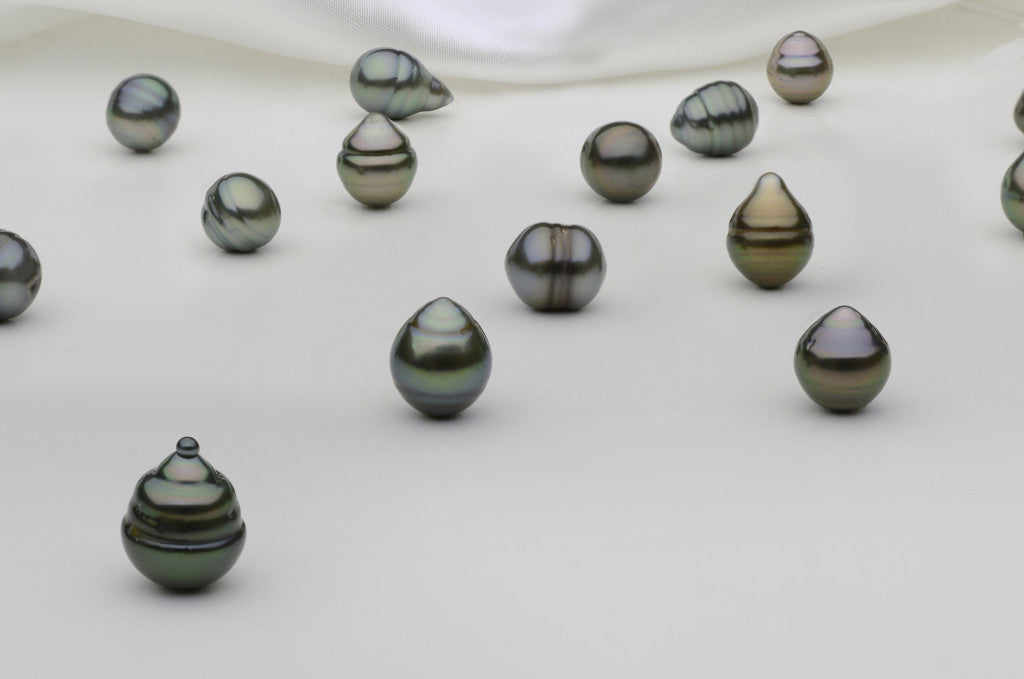 7 mm Tahitian pearls