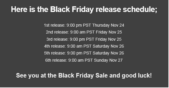 black-friday-release-schedule