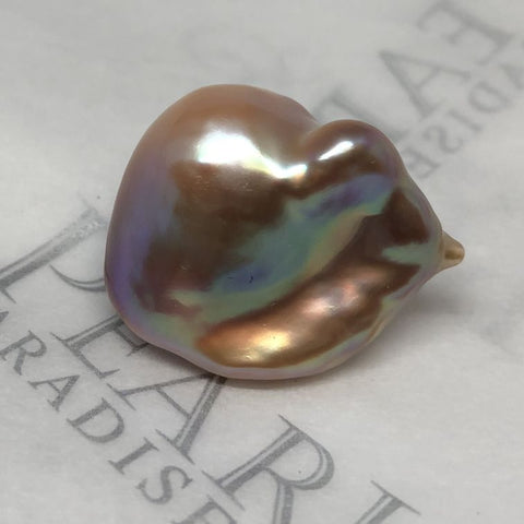 Cowry Shell looking pearl