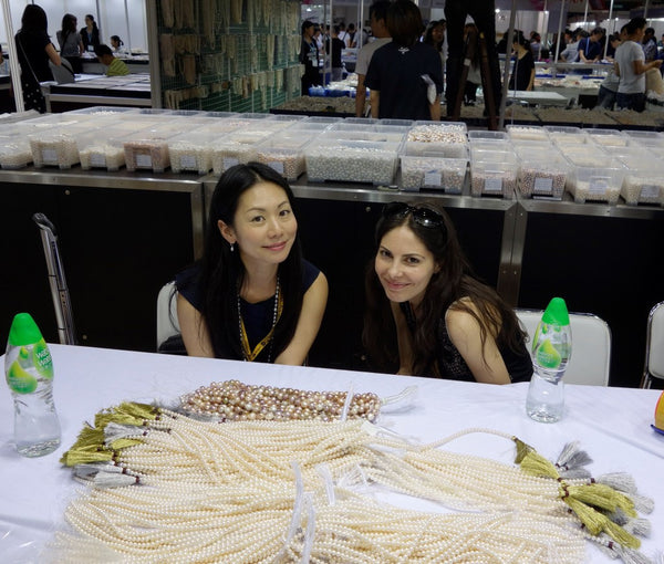 Elia and Hisano selecting ripple strands and AAA freshwater