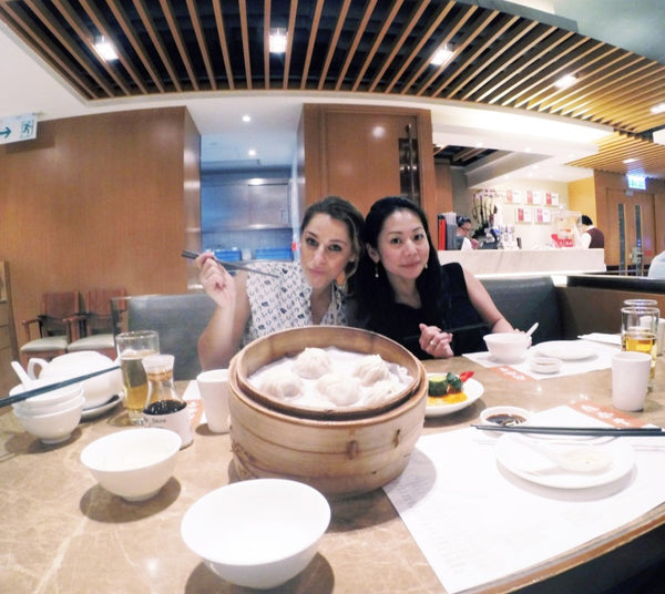 Dim Sum dinner with Hisano and Jeremy!