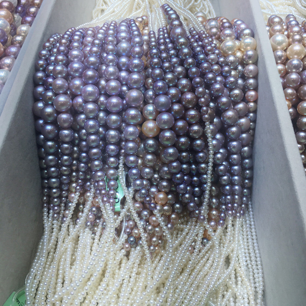 Amazing natural color pearls