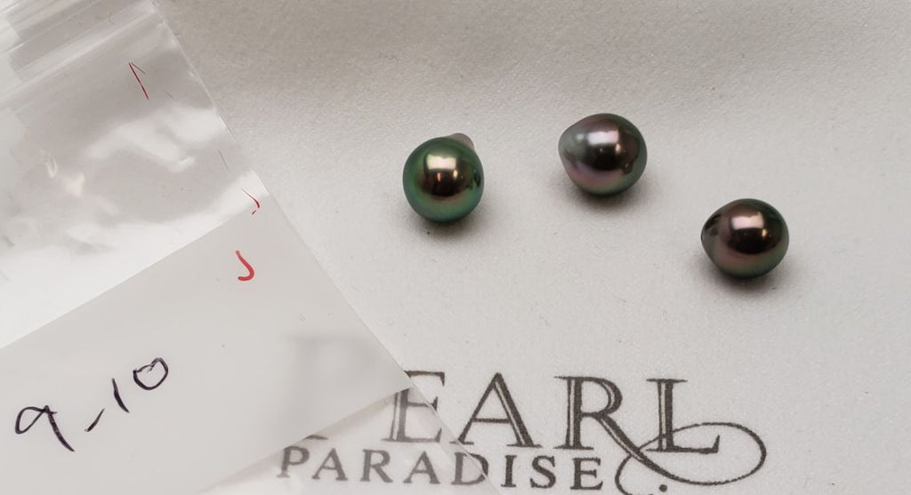 Extra special loose Tahitian pearls