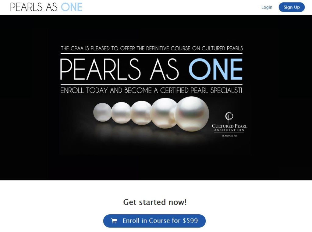 Pearls as One