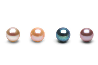 Different Colored Freshwater Pearls