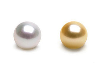 Two South Sea Pearls