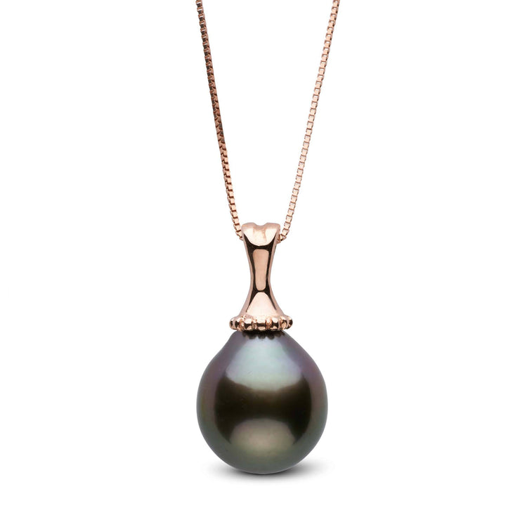 10.0-11.0 mm Tahitian Drop Pearl Pendant