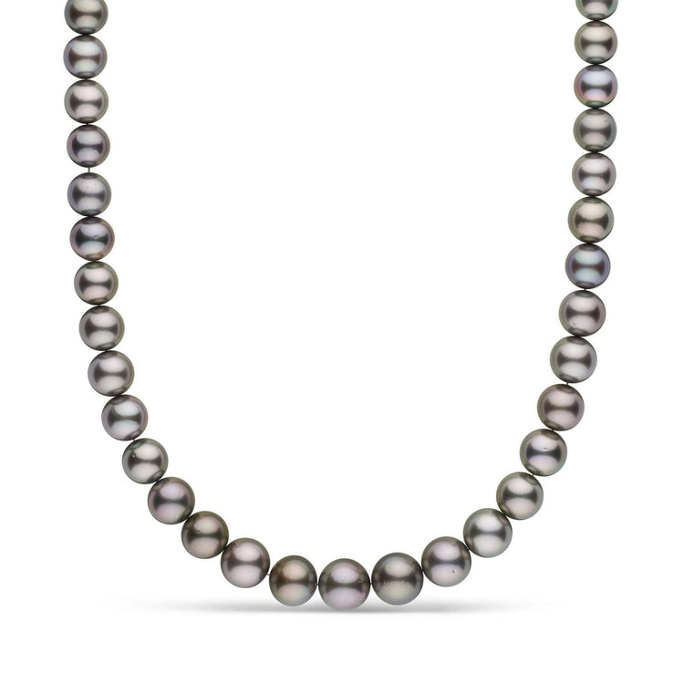 10.0-12.4 mm AA+ Tahitian Pearl Necklace