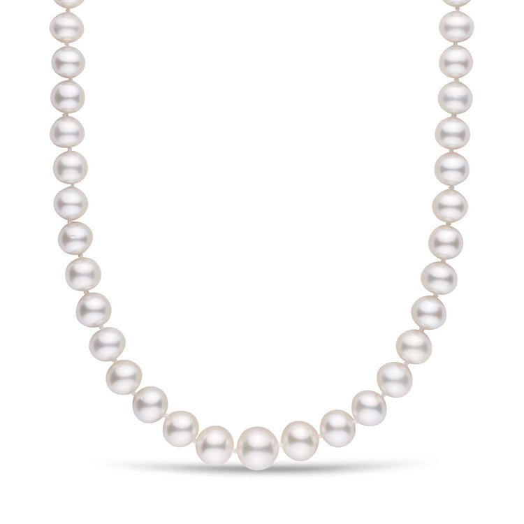 10.0-13.5 mm Near-Round AA+/AAA White South Sea Pearl Necklace