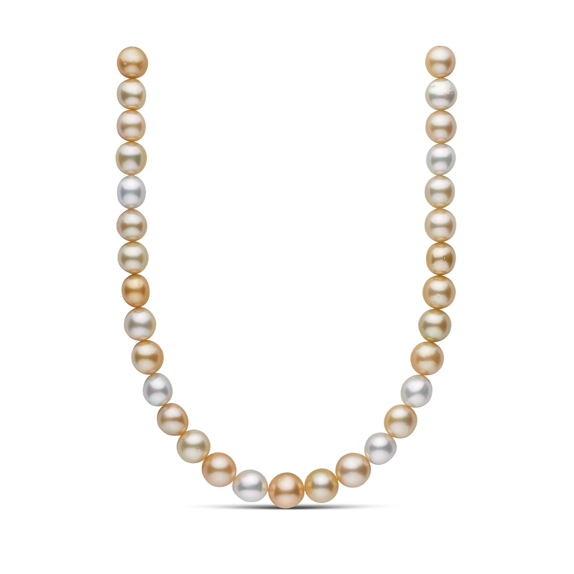 12.0-14.1 mm AA+/AAA Multi South Sea Pearl Necklace
