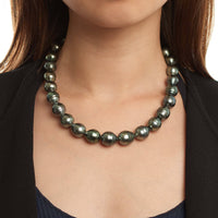 12.0-14.7 mm AA+ Baroque Tahitian Pearl Necklace