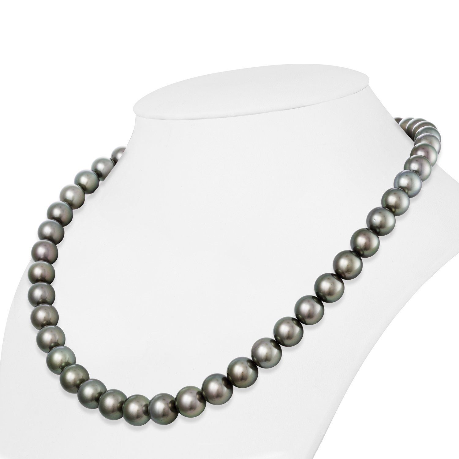 Silver Thyme Tahitian Pearl Necklace