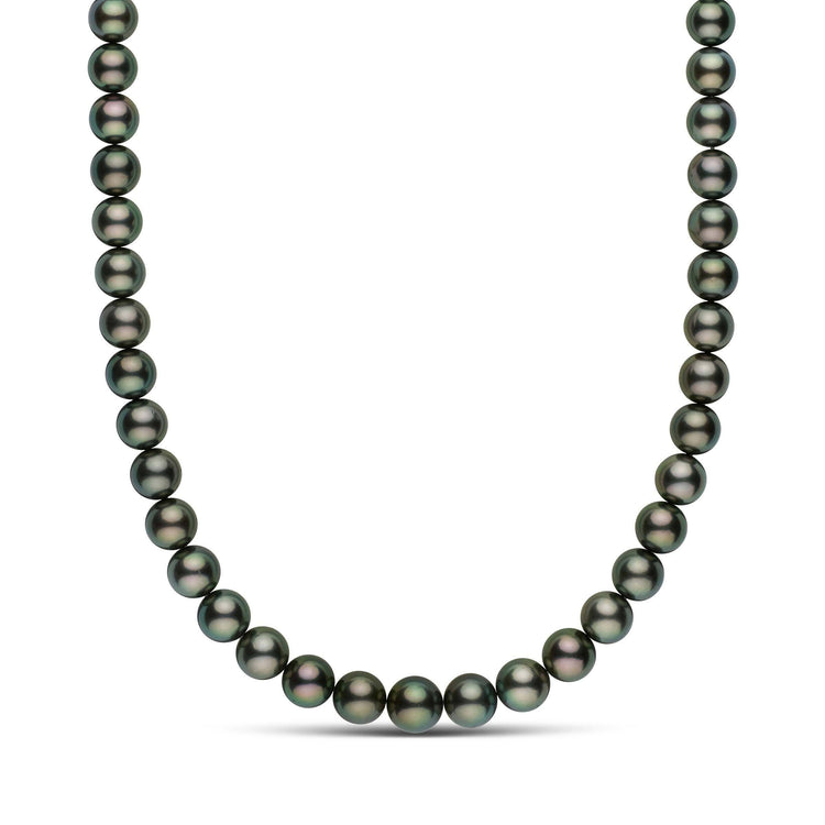 18-inch 9.0-11.4 mm AAA Round Tahitian Pearl Necklace