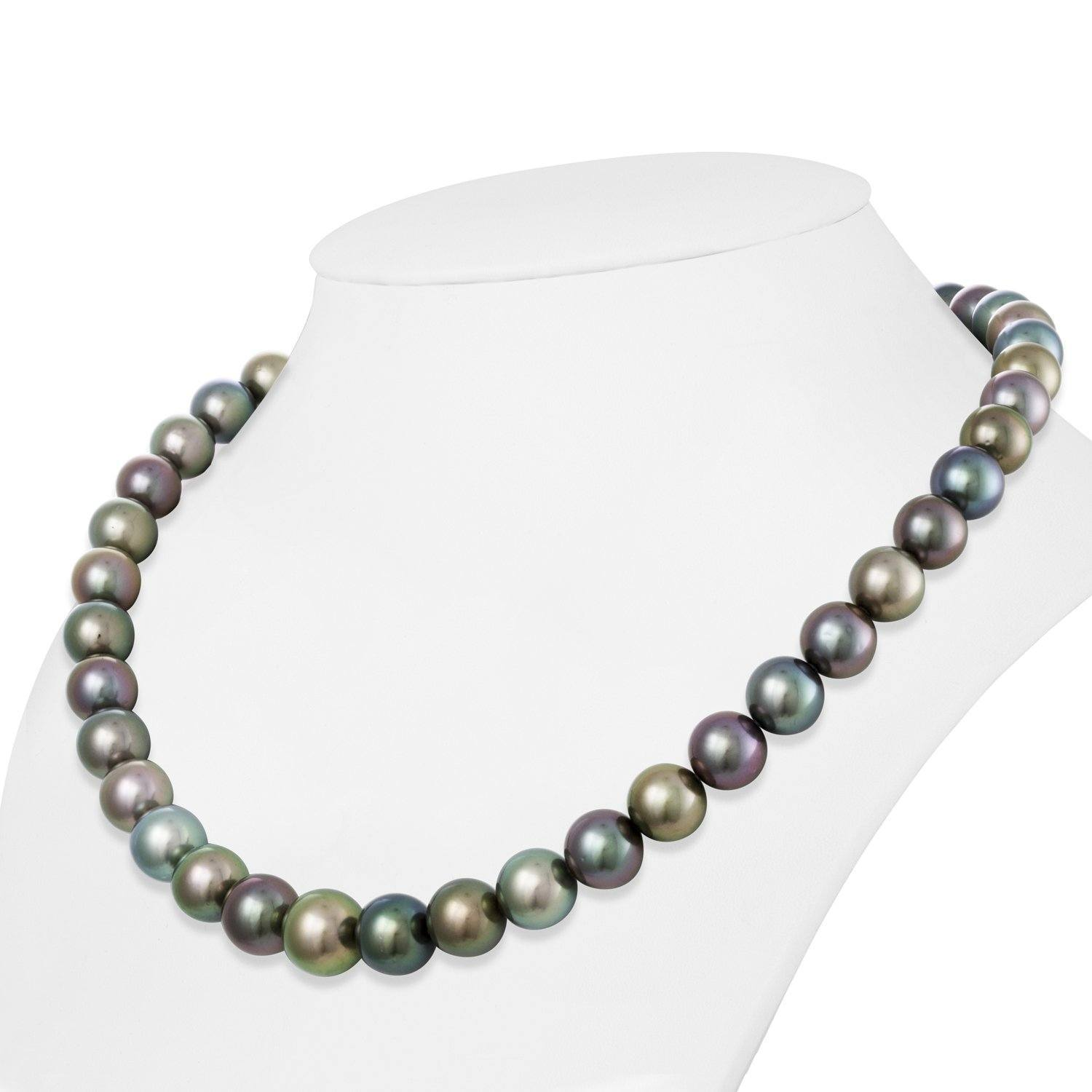 Dreamy Kaleidoscope Tahitian Pearl Necklace