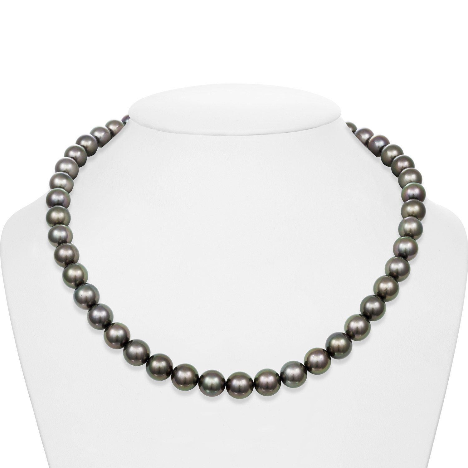 Solar Eclipse Tahitian Pearl Necklace