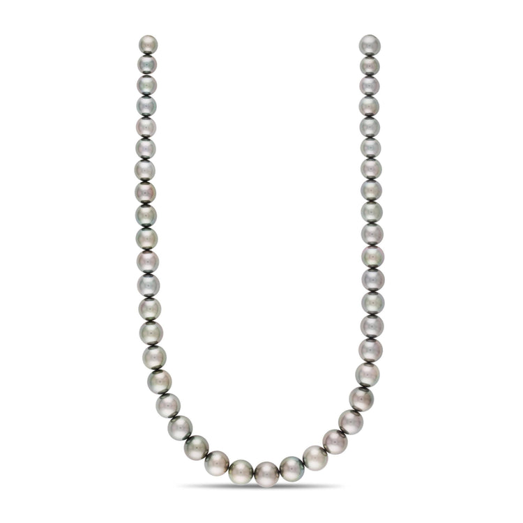 18-inch 8.1-10.8 mm AAA Round Tahitian Pearl Necklace