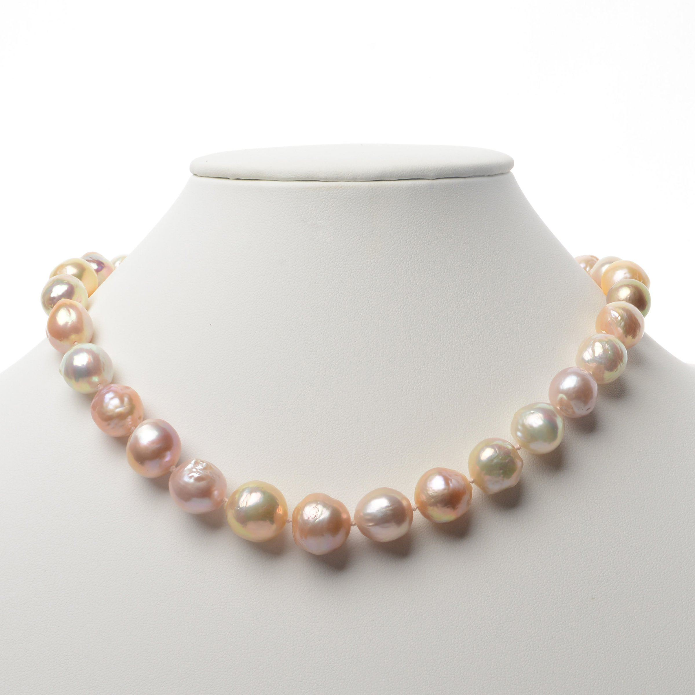 Sweetener Freshwater Ripple Pearl Necklace