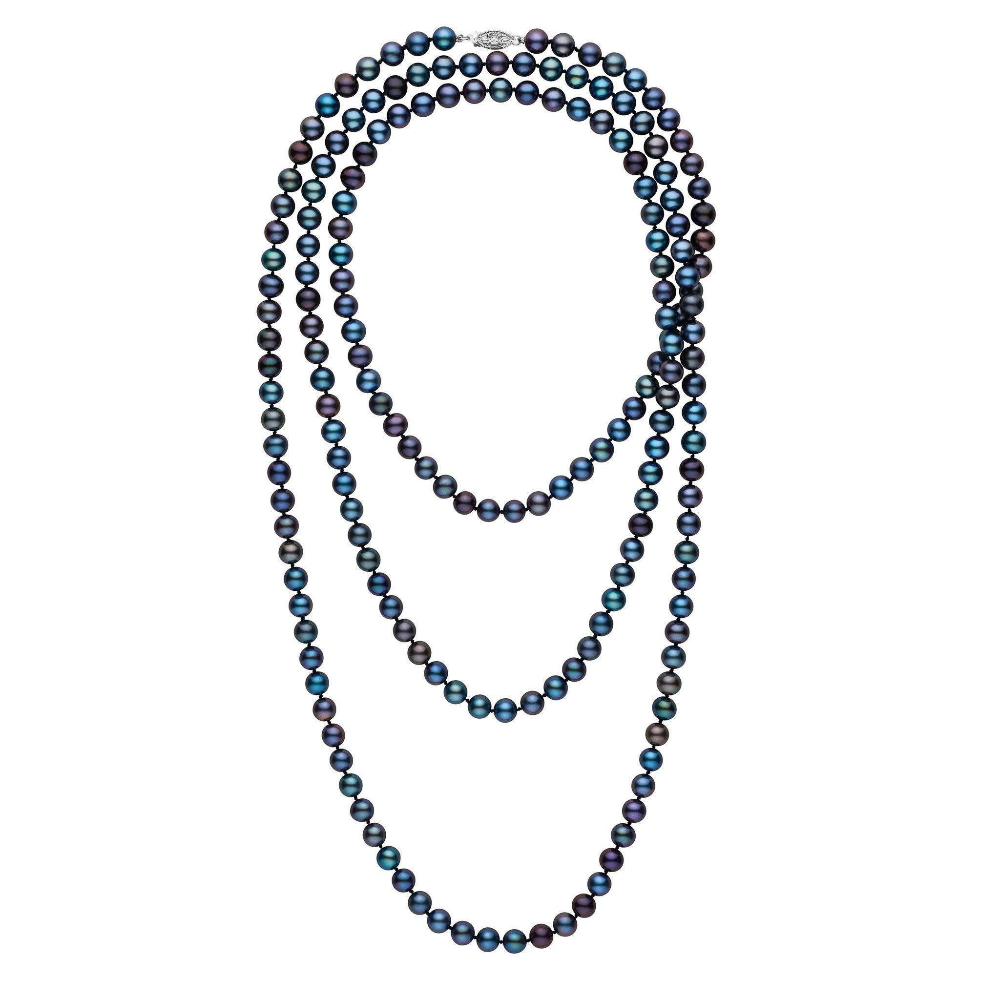 girls tahitian southern necklace the pearl by black shop
