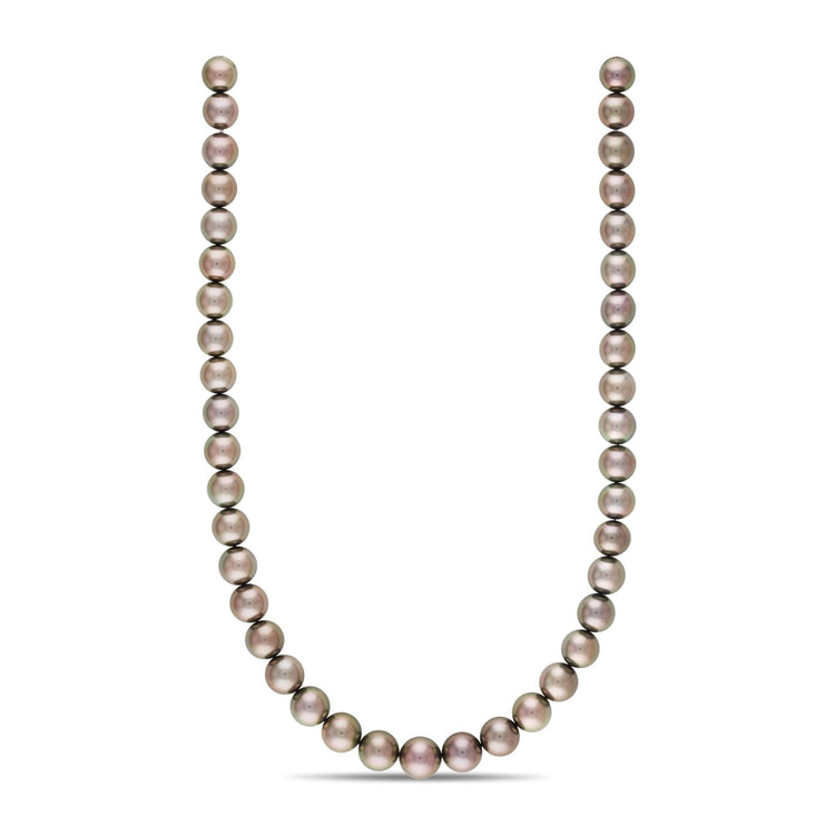 18-inch 10.0-11.9 mm AA+/AAA Round Tahitian Pearl Necklace
