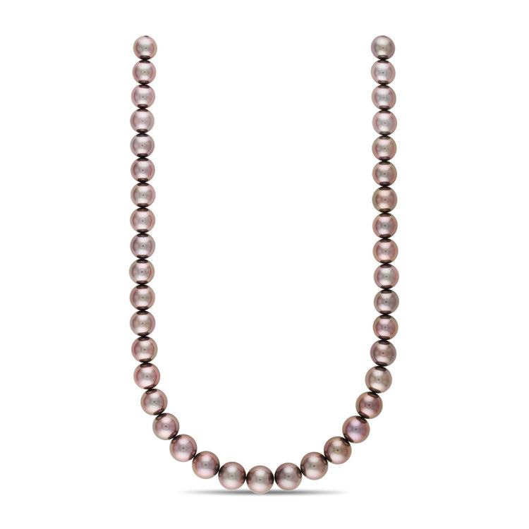 18-inch 10.0-11.7 mm AA+/AAA Round Tahitian Pearl Necklace