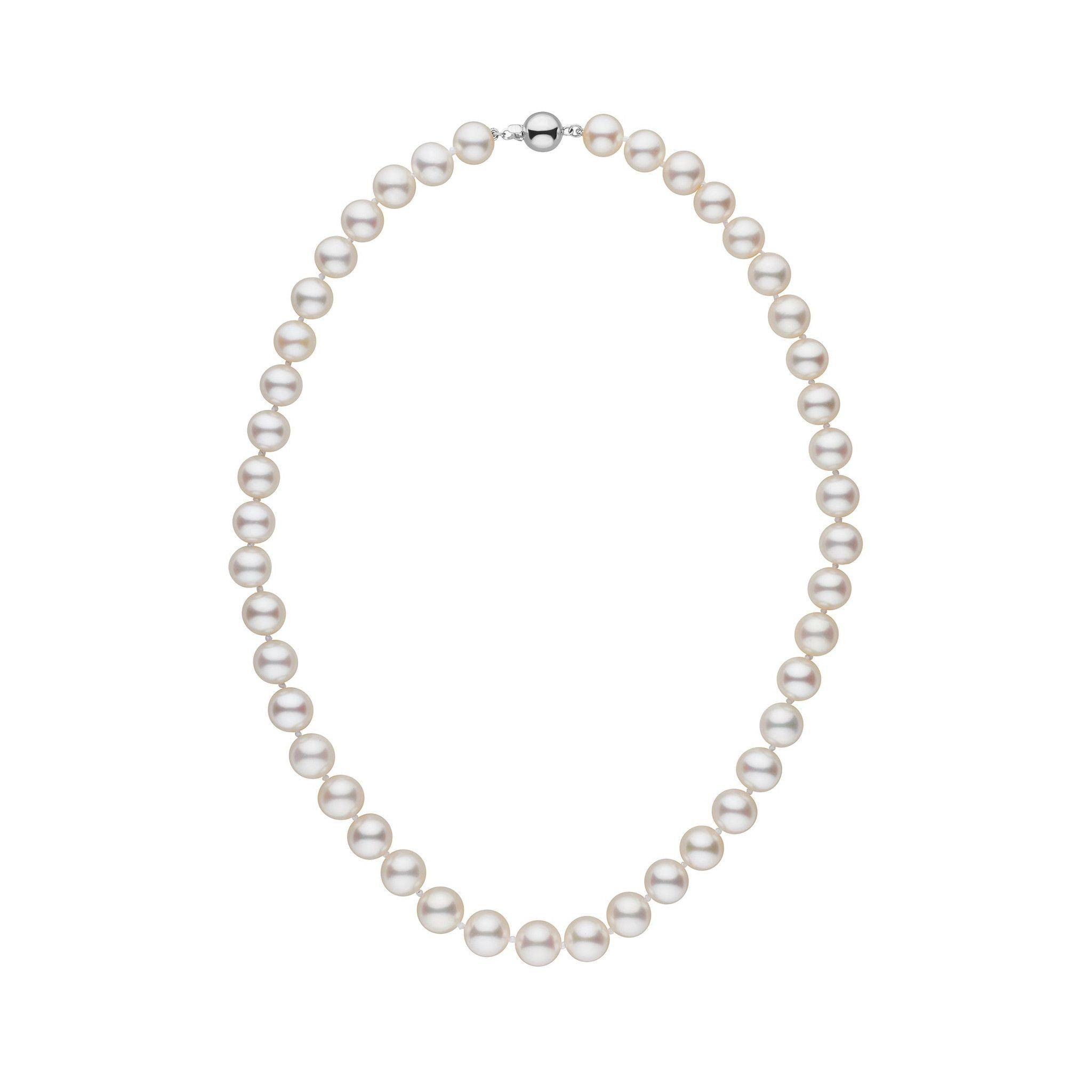 8.5-9.0 mm 16 Inch AAA White Freshwater Pearl Necklace
