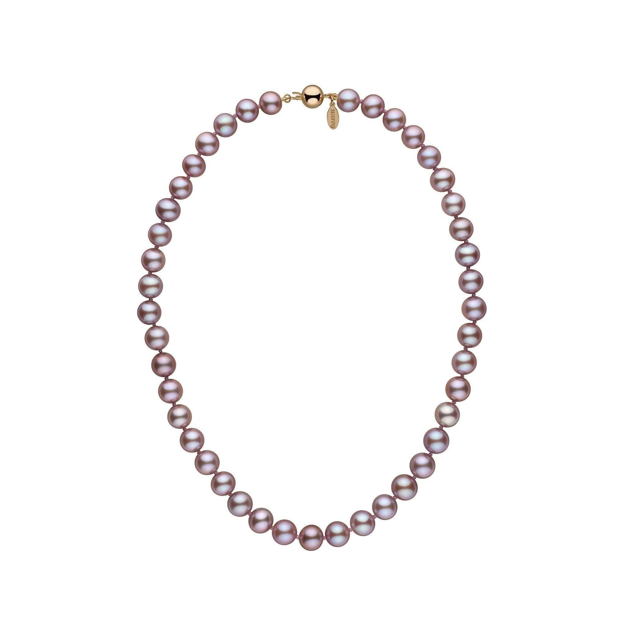 8.5-9.0 mm 16 Inch Lavender Freshadama Freshwater Pearl Necklace