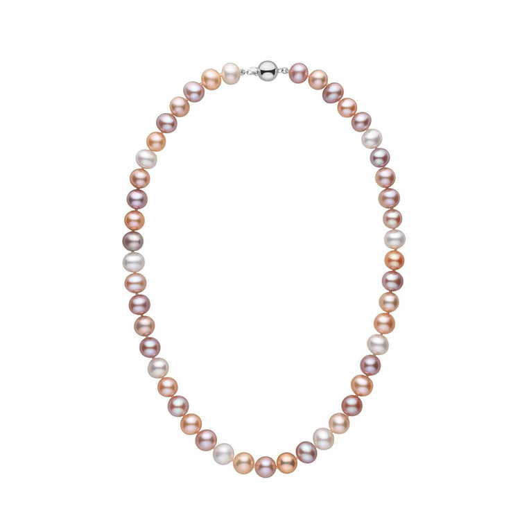 8.5-9.0 mm 18 Inch AA+ Multicolor Freshwater Pearl Necklace
