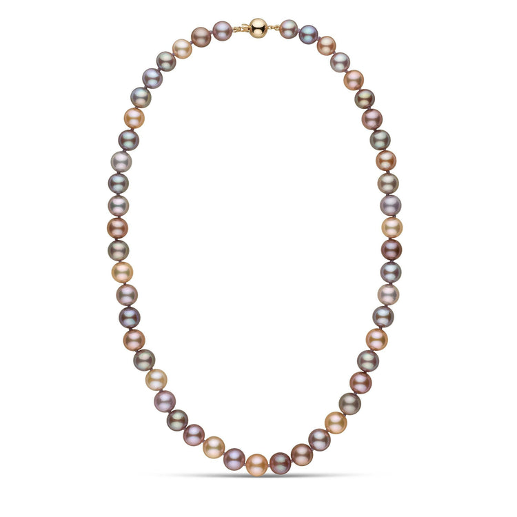 8.5-9.0 mm 18 inch AAA Multicolor Edison Freshwater Pearl Necklace